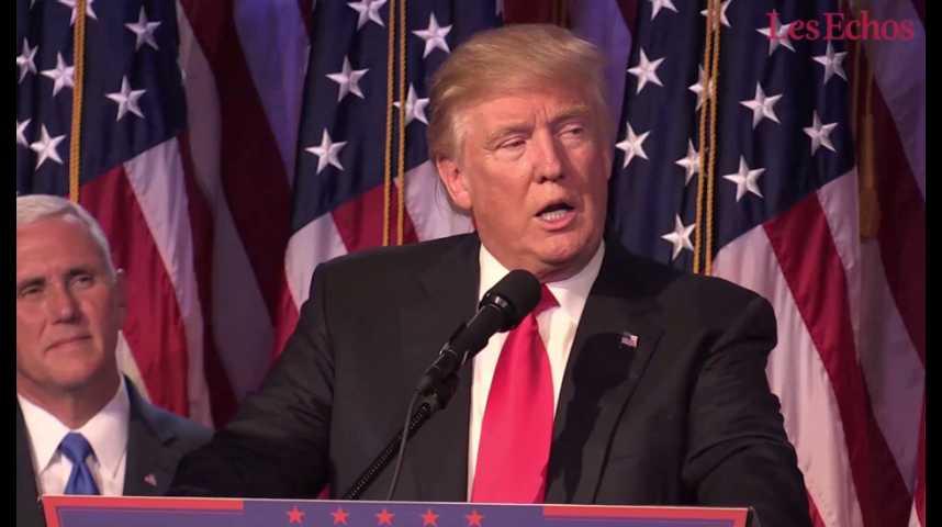 Illustration pour la vidéo Trump modère son projet de baisse de l'impôt sur les sociétés