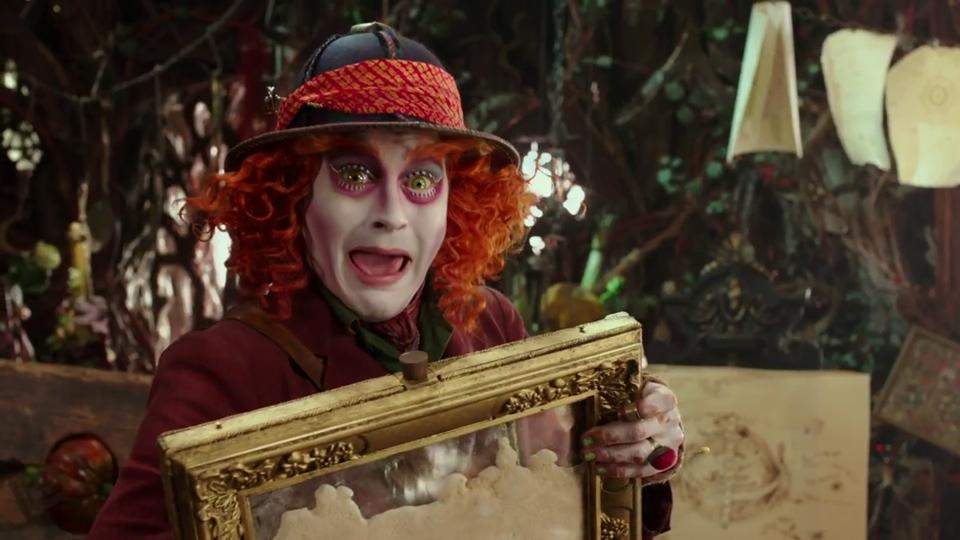 Alice de l'autre côté du miroir - teaser 2 - VO - (2016)