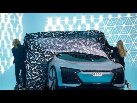 Audi Unveals Stunning Electric Concept Cars At Frankfurt Motor Show