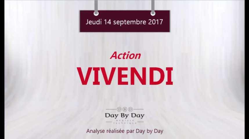 Illustration pour la vidéo Action Vivendi : nouveau plus haut annuel - Flash analyse IG 14.09.2017