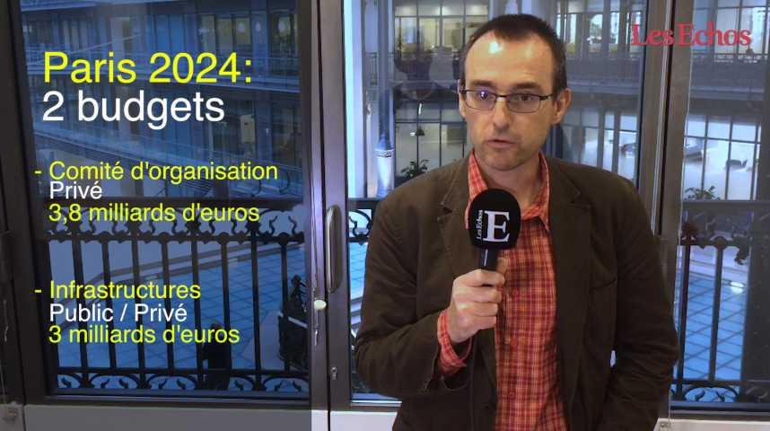 Illustration pour la vidéo Quel financement pour Paris 2024 ?
