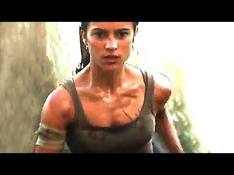 TOMB RAIDER Movie Trailer ✩ Lara Croft (2018)