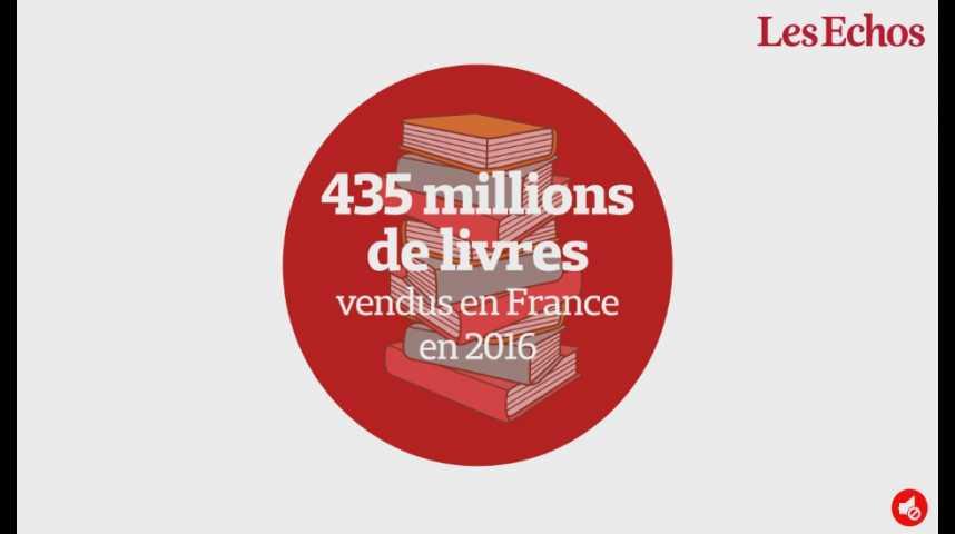 Illustration pour la vidéo 435 millions de livres vendus en France en 2016