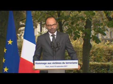 """Terrorisme : """"la force est nécessaire"""", selon Edouard Philippe"""