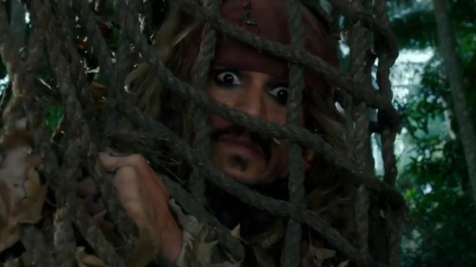Pirates des Caraïbes : la Vengeance de Salazar - teaser 4 - VO - (2017)