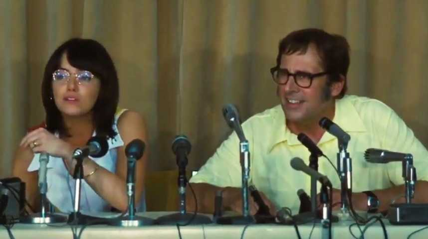 Battle of the Sexes - Bande annonce 8 - VO - (2017)