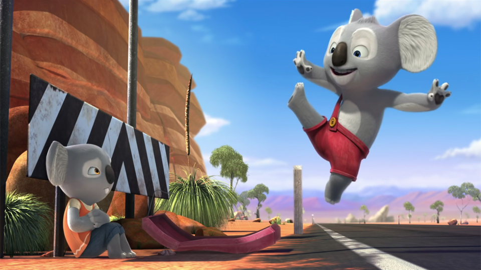 Blinky Bill: The Movie - bande annonce - VO - (2015)