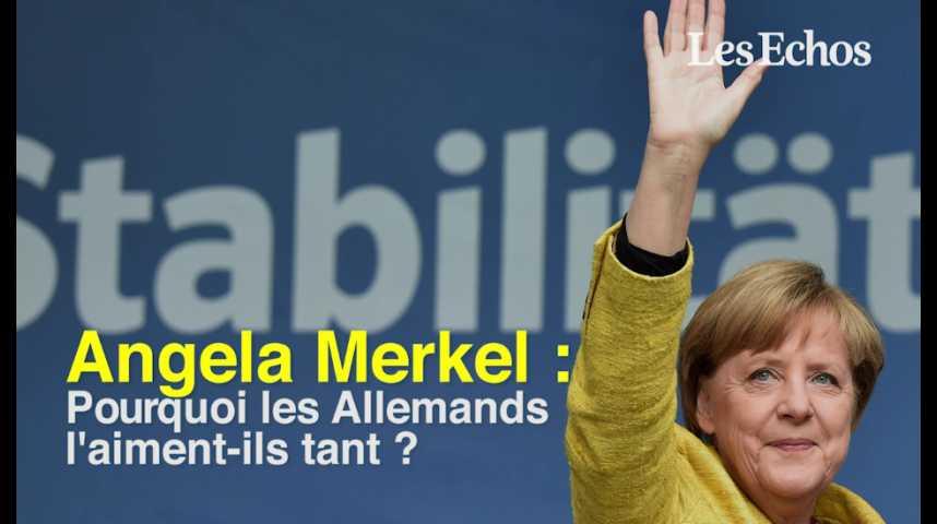 Illustration pour la vidéo Angela Merkel : pourquoi les Allemands l'aiment-ils tant ?