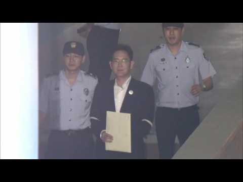 Samsung heir Lee Jae-Yong sentenced to five years in prison