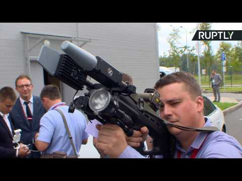 Kalashnikov Unveils REX-1 Anti-Drone Gun at 'Army 2017' Expo