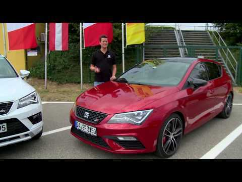 Seat Ateca FR & Seat Leon Cupra 300 Test Drive & Review with the most sporty Seats