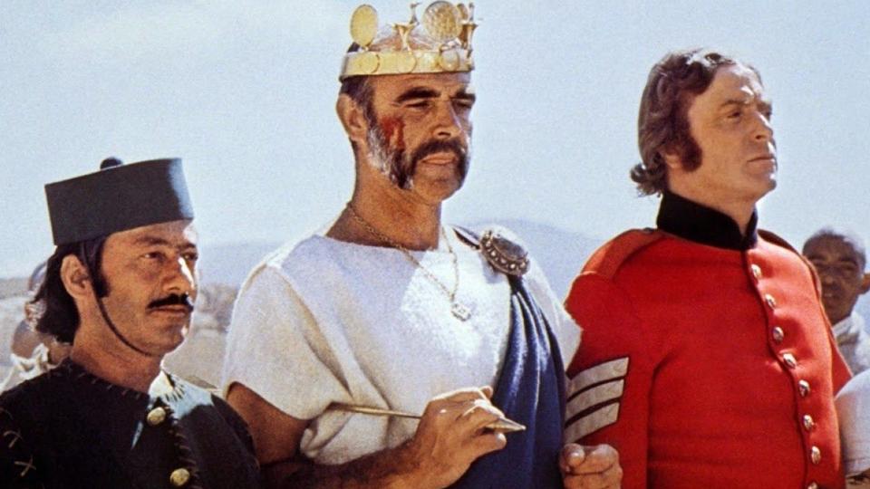 L'Homme qui voulut être roi - bande annonce - VO - (1975)