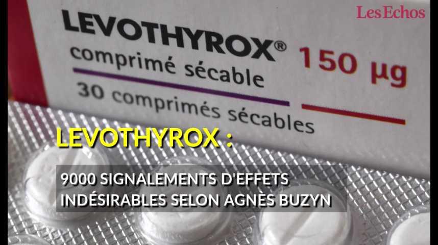 Illustration pour la vidéo Levothyrox : 9000 cas d'effets indésirables d'après Agnès Buzyn