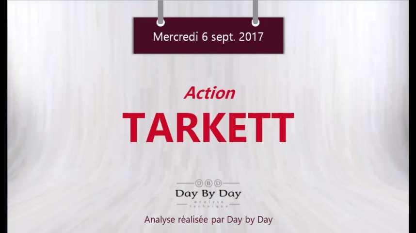 Illustration pour la vidéo Action Tarkett - vers de nouveaux plus bas annuels - Flash analyse IG 06.09.2017