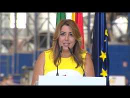 Susana Díaz sobre infraestructuras en Andalucía
