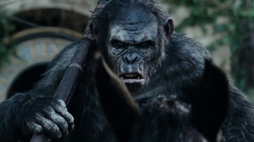 La Planète des singes : l'affrontement - bande annonce 6 - VF - (2014)