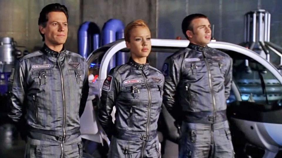 Les 4 Fantastiques - bande annonce - VO - (2005)