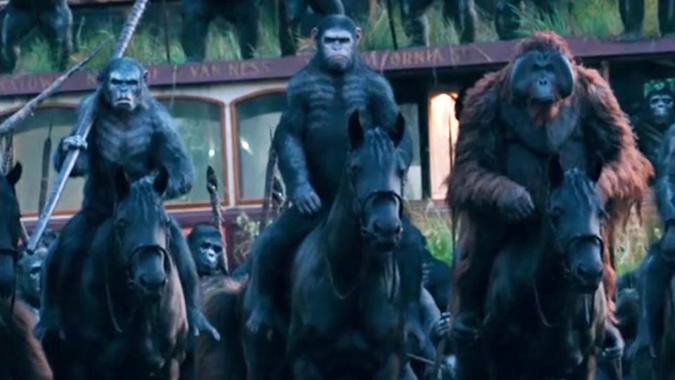 La Planète des singes : l'affrontement - teaser 2 - VO - (2014)