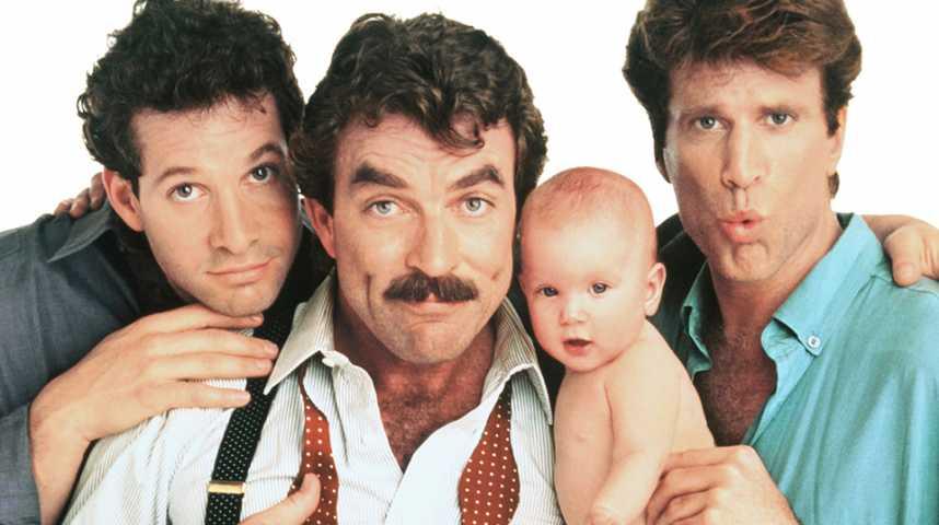 Trois hommes et un bébé - bande annonce - VO - (1987)