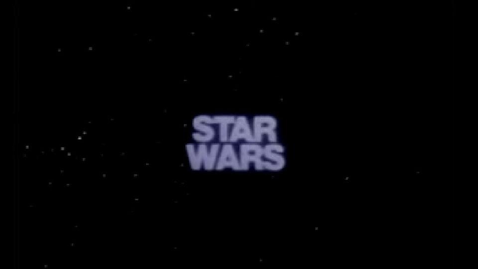 Star Wars : Episode IV - Un nouvel espoir (La Guerre des étoiles) - teaser - VO - (1977)