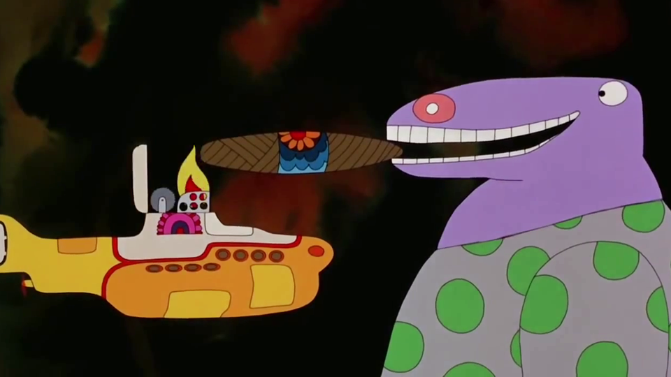 Yellow Submarine - bande annonce - VO - (1968)