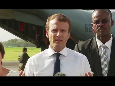 """Macron en Guadeloupe : """"Une anticipation supérieure n'aurait pas été possible"""""""