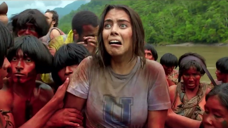 The Green Inferno - teaser 2 - VO - (2013)