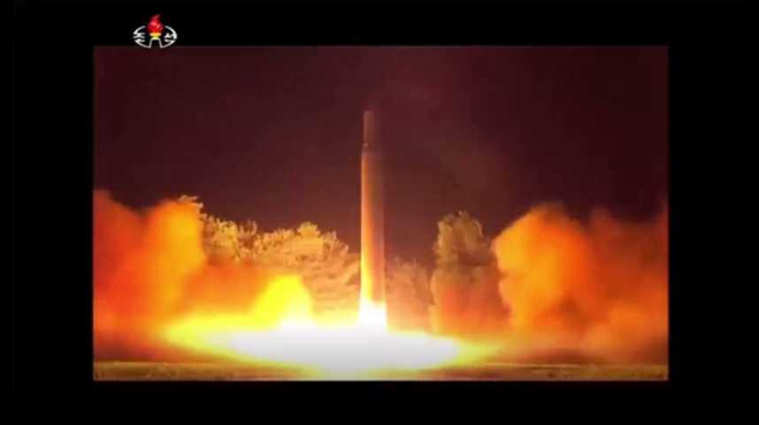 Illustration pour la vidéo Un missile nord-coréen a survolé le Japon