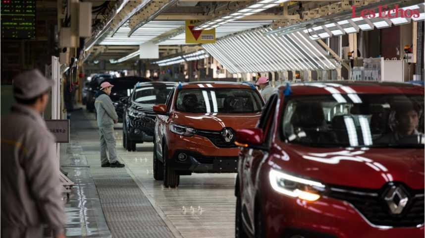 Illustration pour la vidéo Renault-Nissan s'allie à Dongfeng en Chine pour développer des véhicules électriques