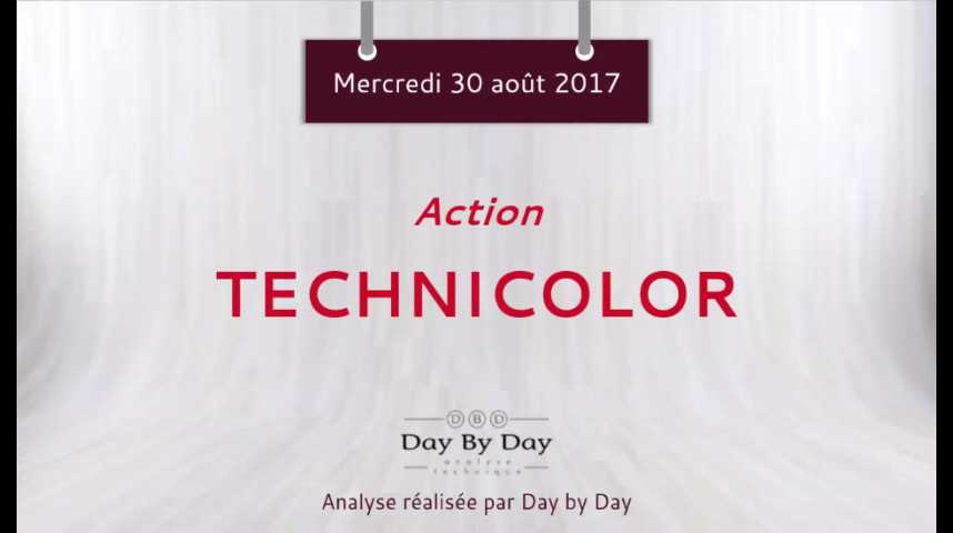 Illustration pour la vidéo Action Technicolor - la baisse se poursuit - Flash Analyse IG 30.08.2017