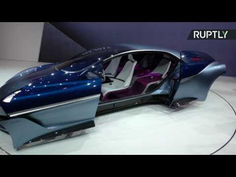 Futuristic Isabella Concept Car Makes Jaws Drop at Frankfurt Motor Show