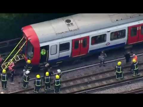 Did A Home-Made Bomb Detonate On A London Train?