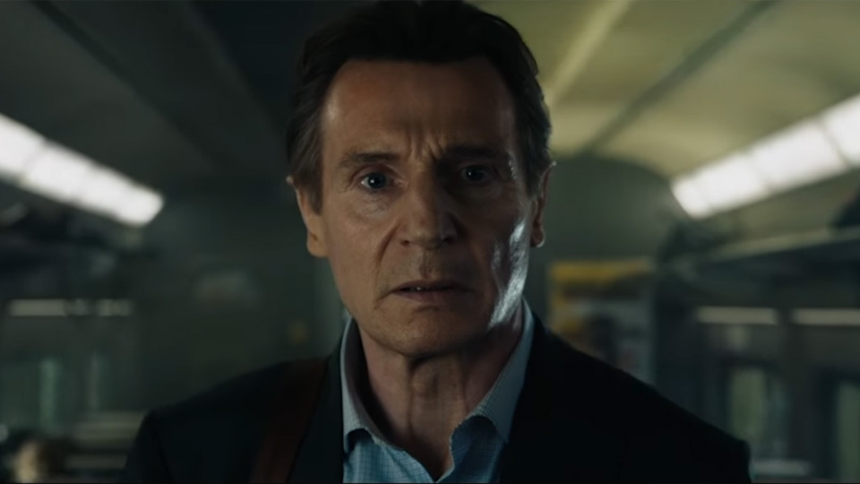 The Commuter - bande annonce - VO - (2018)