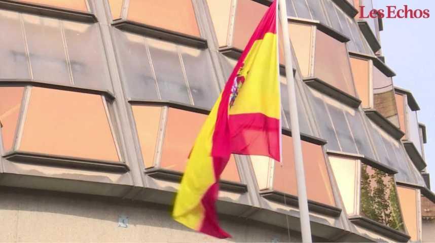 Illustration pour la vidéo Catalogne : la Cour constitutionnelle annule la déclaration d'indépendance