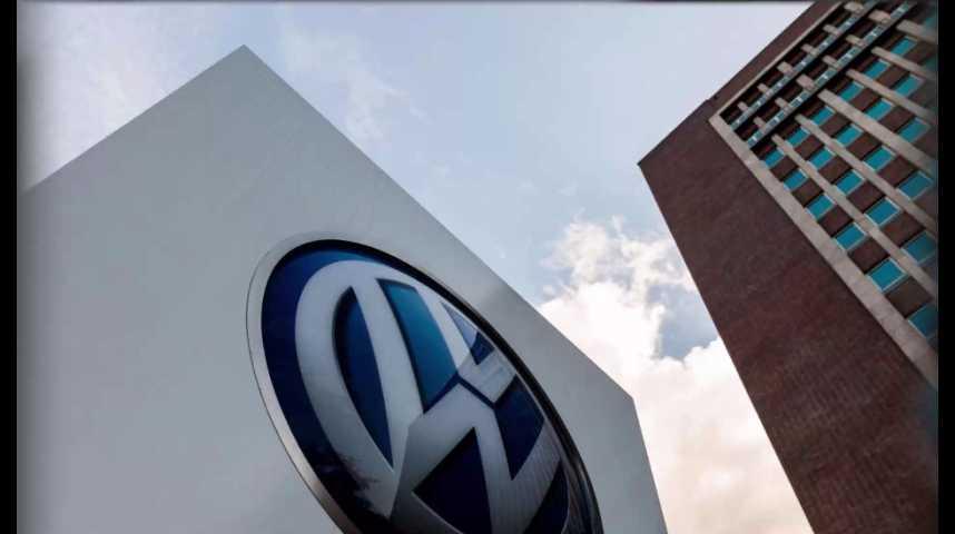 Illustration pour la vidéo Voitures électriques : Volkswagen investit 10 milliards d'euros en Chine