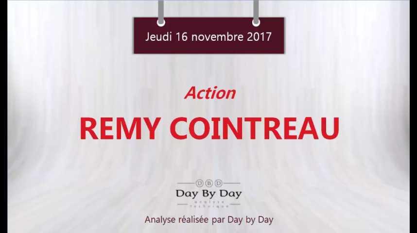Illustration pour la vidéo   1:22 Action Rémy Cointreau : la tendance reste favorable - Flash analyse IG 16.11.2017