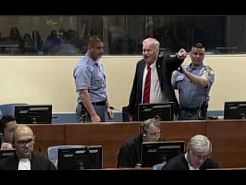 Serbie : Ratko Mladic évacué du tribunal avant l'annonce de sa condamnation a perpétuité