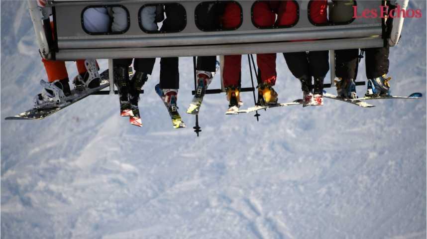 Illustration pour la vidéo Pour la quatrième fois, la meilleure station de ski au monde est française