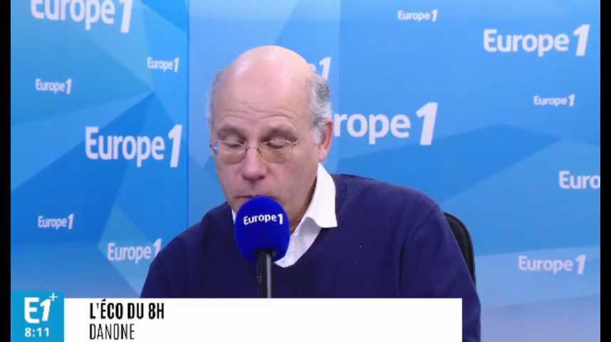 Illustration pour la vidéo Danone : Franck Riboud cède la présidence à Emmanuel Faber
