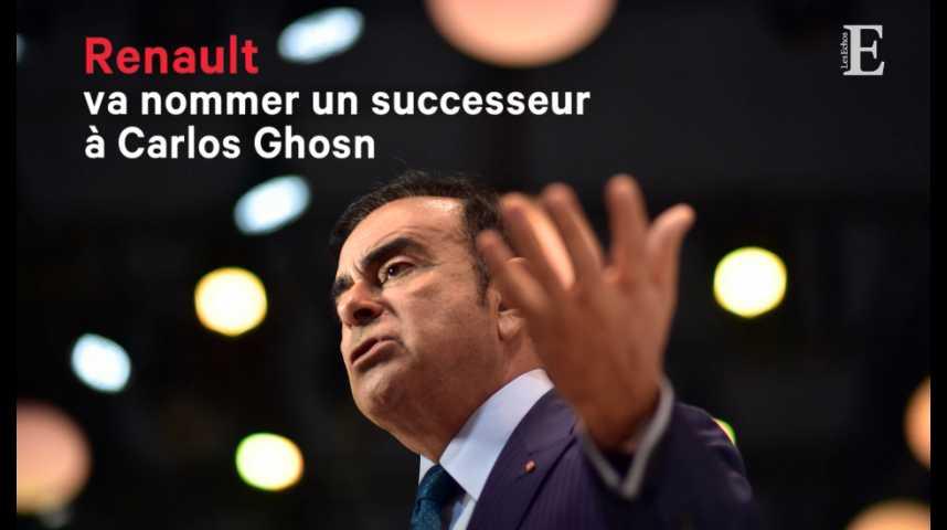 Illustration pour la vidéo Renault va nommer un successeur à Carlos Ghosn