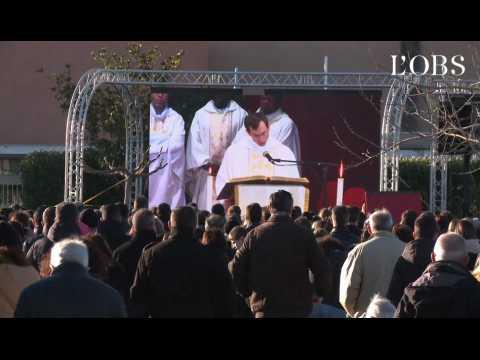 """Obsèques des enfants de Millas : """"On n'a pas les mots pour s'exprimer..."""""""