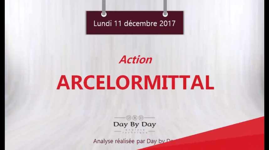 Illustration pour la vidéo Action ArcelorMittal : au plus haut depuis 2014 - Flash analyse IG 11.12.2017