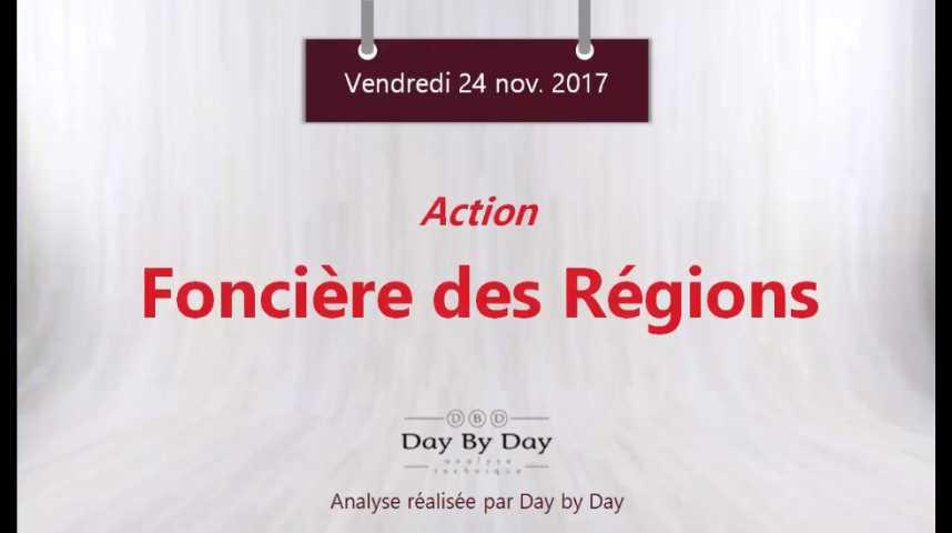 Illustration pour la vidéo Action Foncière des Régions : vers de nouveaux records - Flash analyse IG 24.11.2017