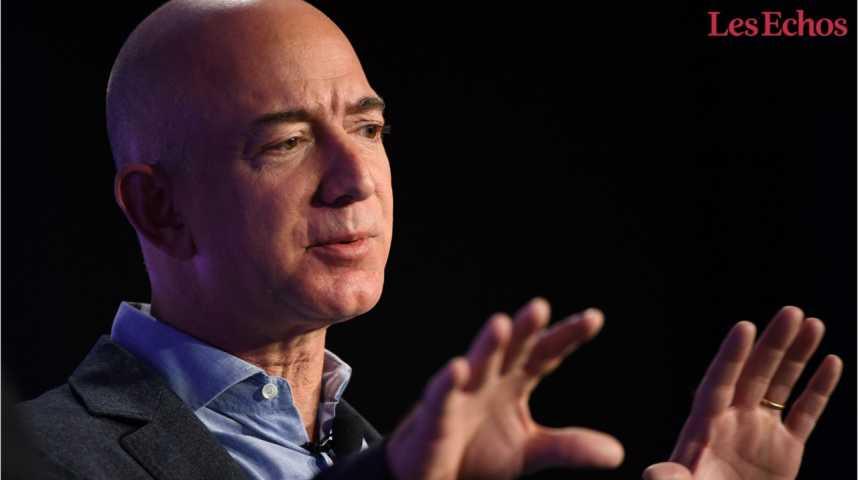 Illustration pour la vidéo Jeff Bezos, plus riche que Bill Gates