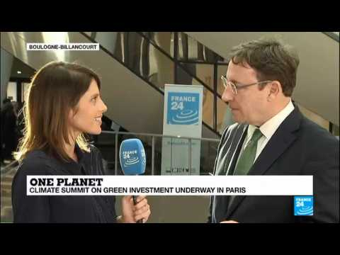 """One Planet Summit: """"Investments in low carbon economy are increasing exponentially"""""""