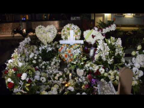 French rocker Hallyday buried in Caribbean