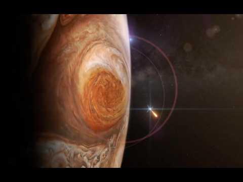 Plongez à l'intérieur de la tache rouge de Jupiter, plus grande que la Terre