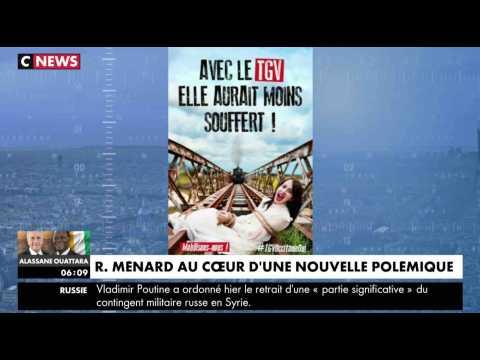 Robert Ménard fait polémique avec une affiche - ZAPPING ACTU DU 12/12/2017