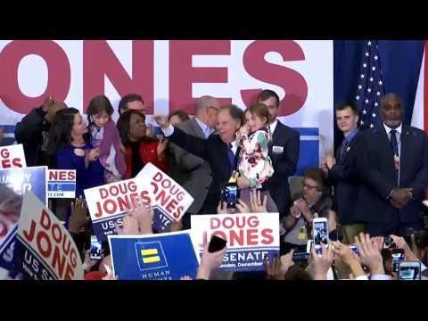 Victoire surprise d'un démocrate en Alabama, une claque pour Trump