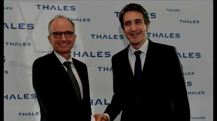 Illustration pour la vidéo Thales accélère sa mue digitale avec Gemalto